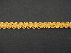 Braid Old Gold, price per mtr