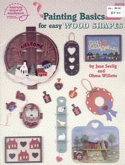 Painting Basics for easy Wood Shapes