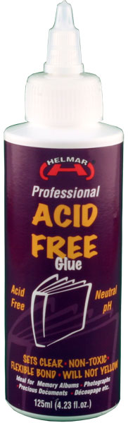 Acid Free Neutral pH Glue 125ml