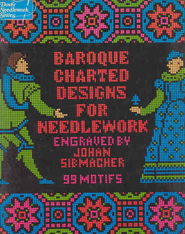Baroque Charted Designs for Needlework