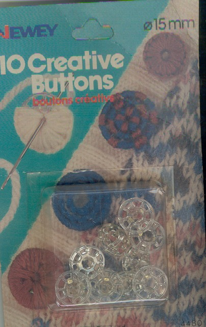 15mm Button Creative (Pkt x10)