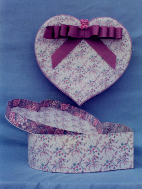 Medium Heart Box & Tray