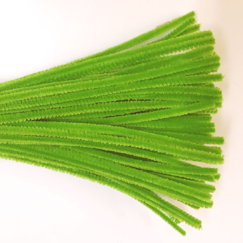 Chenille Sticks 6mm; Kelly