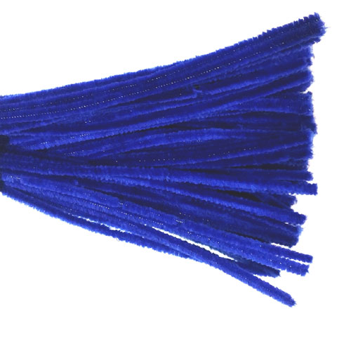 Chenille Sticks 6mm; Royal