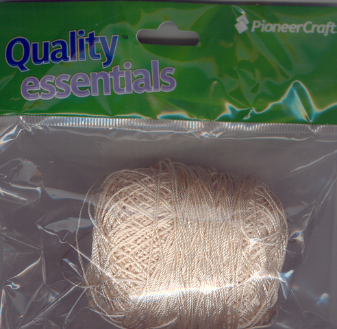 Crochet Yarn Bone 50gms.