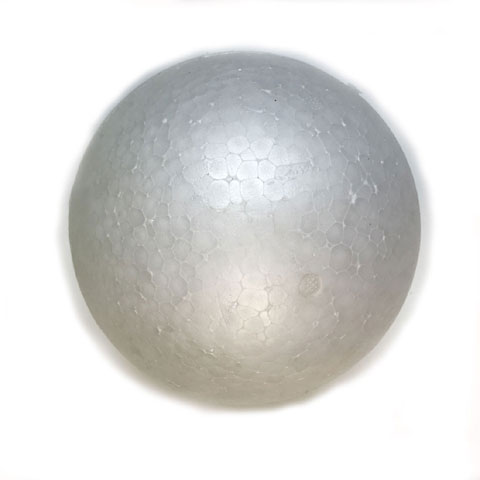 150mm White Polystyrene Foam Balls