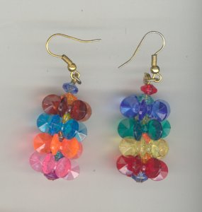 Star Bead Earrings