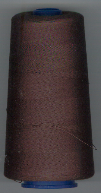 5000m Thread Over Locking Dark Brown 40/2