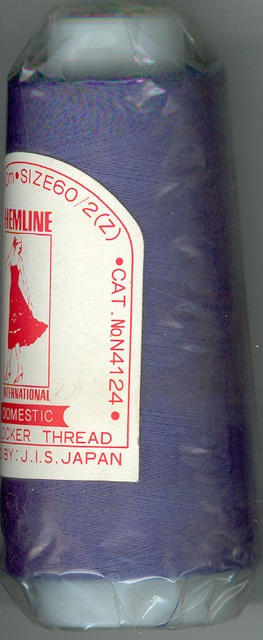 1500m Thread Over Locking Blue