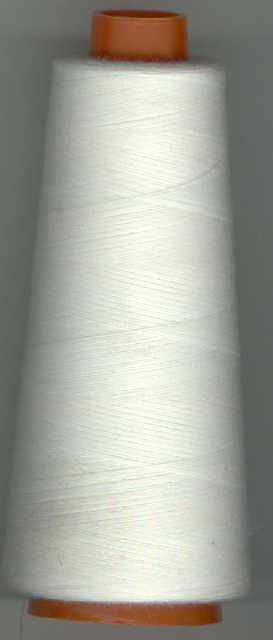 1500m Thread Over Locking Off White