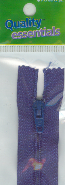 Zip Fastener 20cm, Royal No3 Closed End