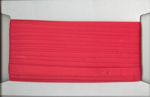 30mtr x 12mm PCotton Bias Binding Red per mt