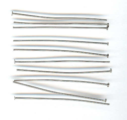 Head Pin 50mm Nickel 100g