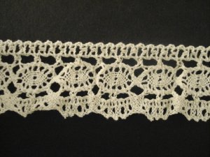 Lace Elastic 336449 White price per mt