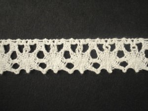 Lace Elastic 524636 WHITE price per mt