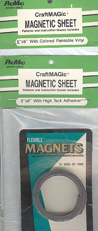 Assorted Magnetic Sheet & Strip