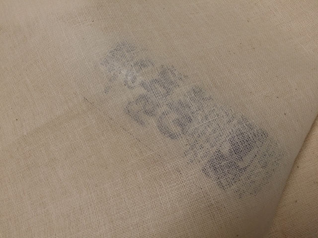 100% Cotton Muslin Open Weave Natural p/mtr