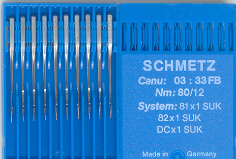 Overlocking Schmetz 80 (pack x10)