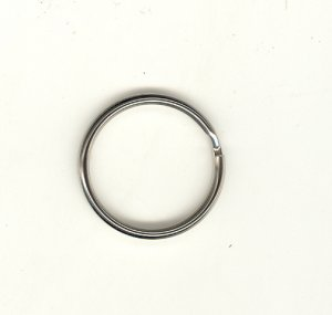 Split Rings 25mm Nickle 100p