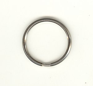 Split Rings 30mm Nickle 10p