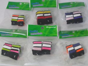 Licorice Allsorts Earrings ( per one pair)