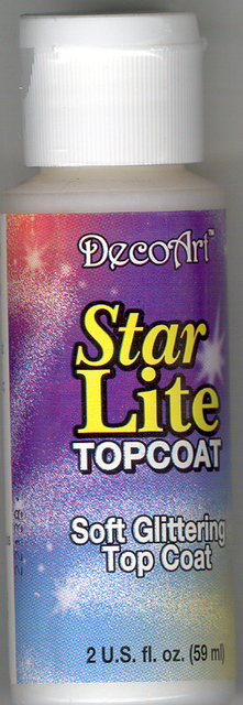 DecoArt Star Lite Topcoat 2oz