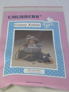 Chubbers Granny Knitter Patterns and Materials