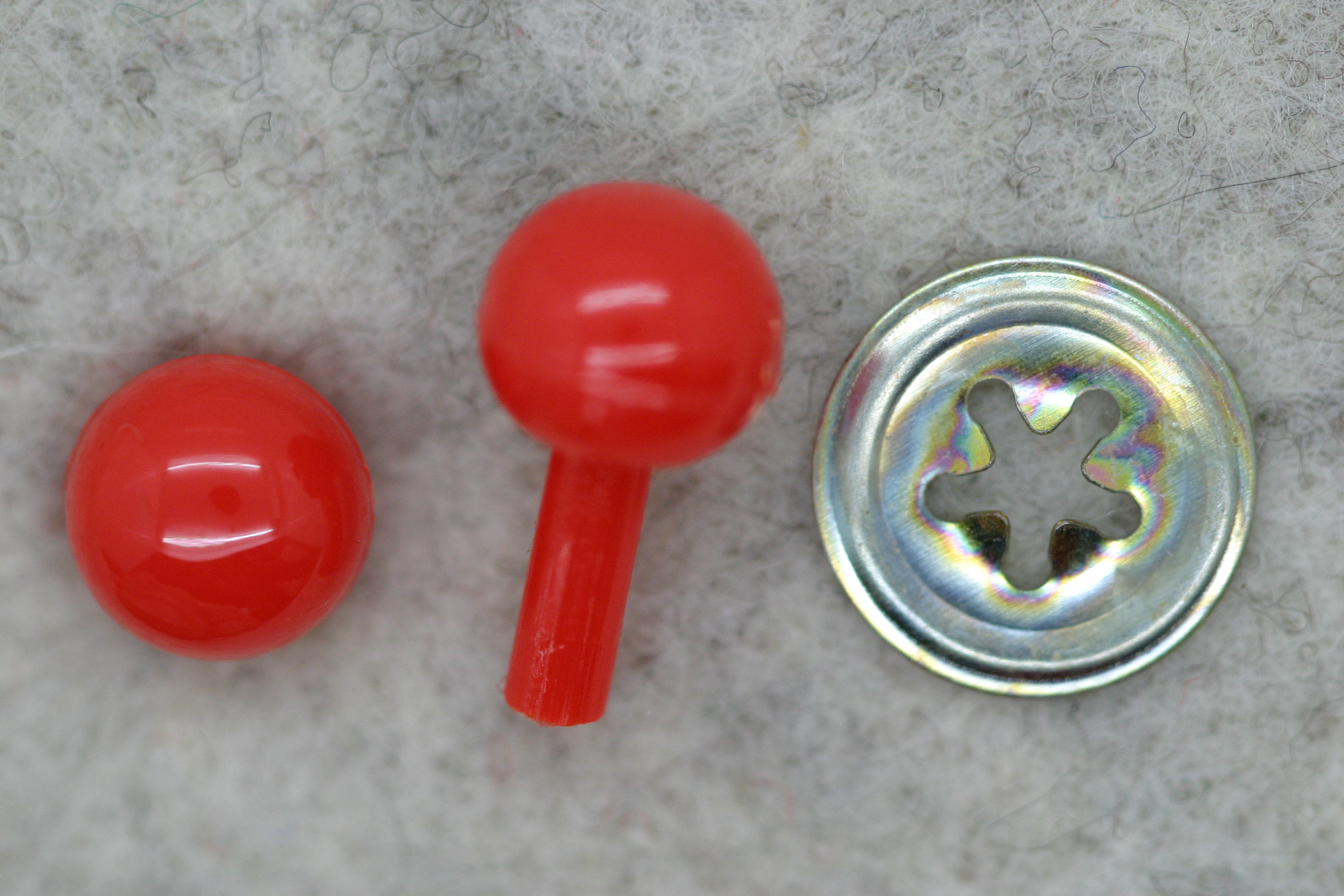 07.5mm Red Ball Nose x 1