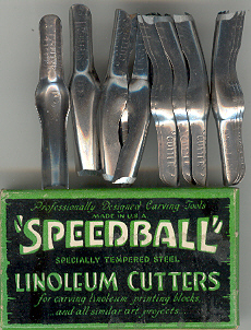 Speedball Lino Cutters (Box x12) No5.