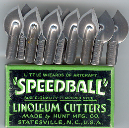 Speedball Lino Cutters (Box x12) No6.