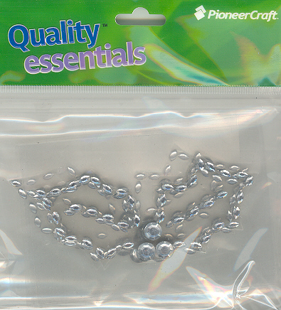 Sequins Silver Holly Leaves, price per pkt