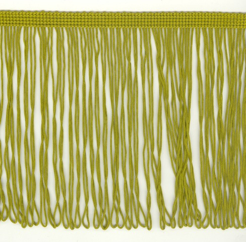 150mm Fringe Loop Olive