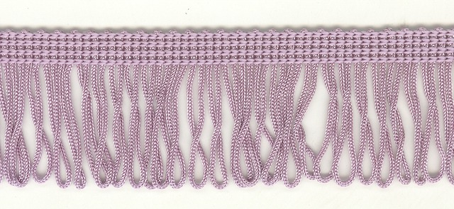 35mm Loop Fringe Lilac