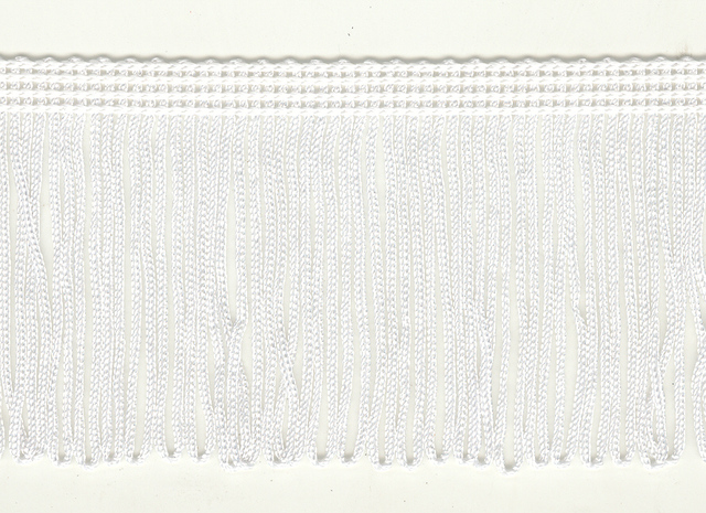 70mm Loop Fringe White price per mt
