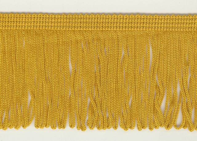 70mm Loop Fringe Old Gold