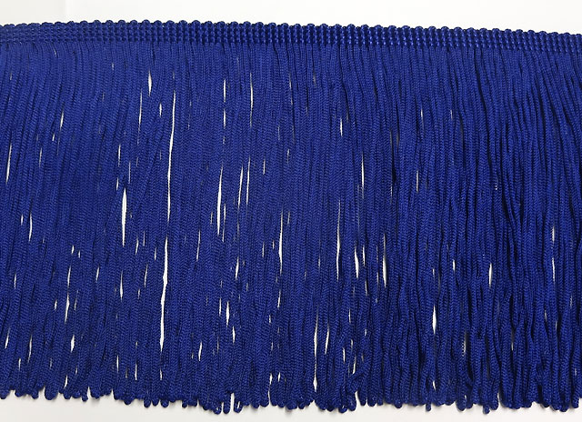 70mm Loop Fringe Royal Blue