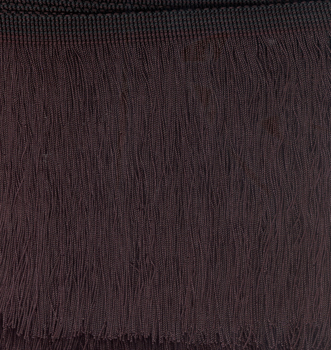 Cut Fringe 150mm Black