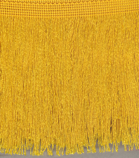 Cut Fringe 150mm Deep Gold
