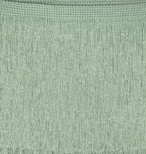 Cut Fringe 150mm Willow Green price per mt