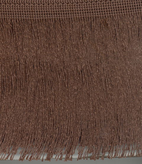 Cut Fringe 300mm Dark Brown