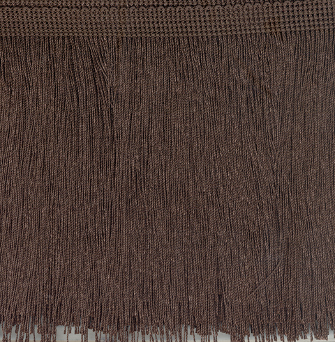 Cut Fringe 300mm Brown