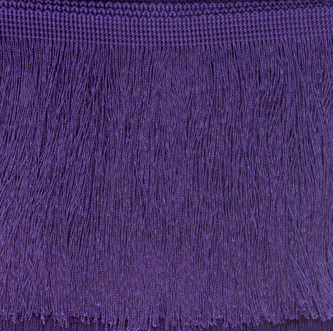 Cut Fringe 300mm Purple