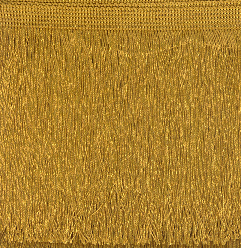 Cut Fringe 300mm Old Gold