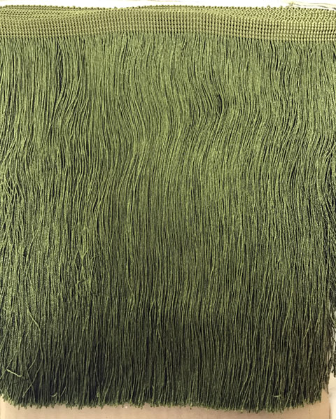 Cut Fringe 300mm Mist Green