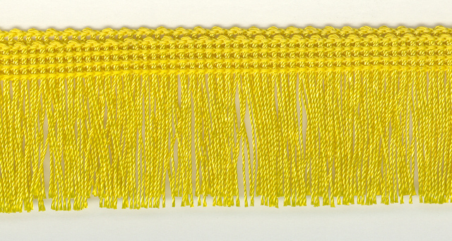 Rayon Cut Fringe 50mm Colour Citron