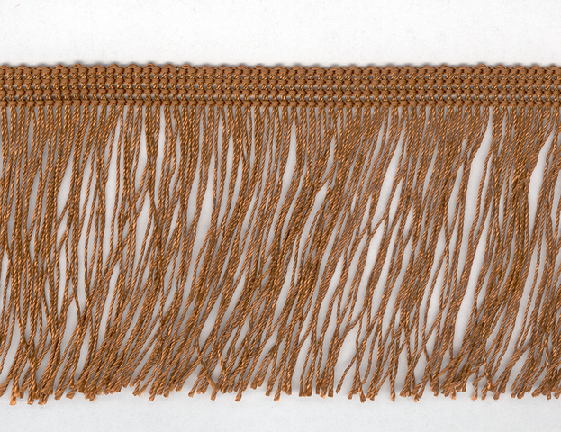 75mm Cut Fringe Tan