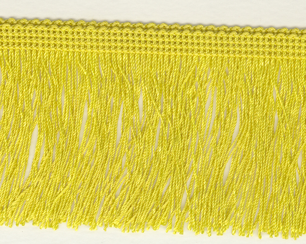 75mm Cut Fringe Citron
