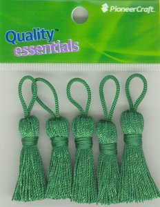 Tassels 35mm 64 Emerald