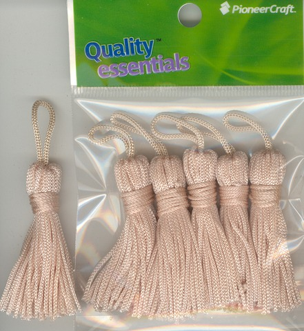 Tassels 50mm 02 Bone