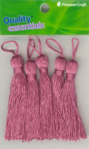 Tassels 70mm 28 Strawberry